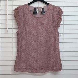 NWOT Frenchi blouse Top Size XL